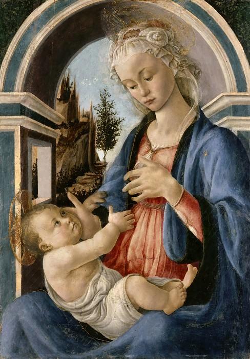 Virgin and Child. Alessandro Botticelli