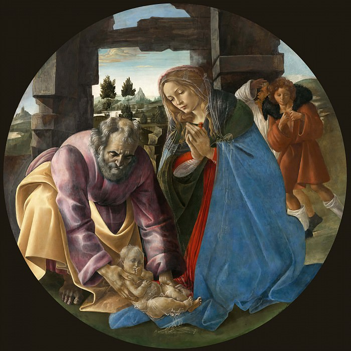 Nativity. Alessandro Botticelli