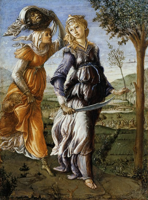 The Return of Judith. Alessandro Botticelli