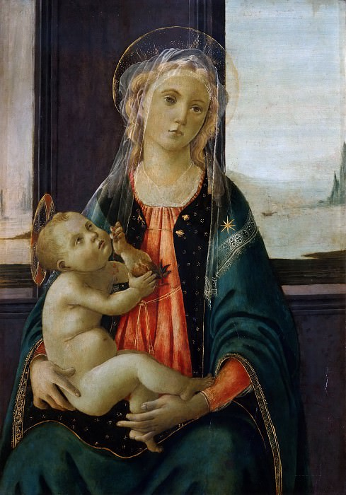 Madonna of the Sea. Alessandro Botticelli