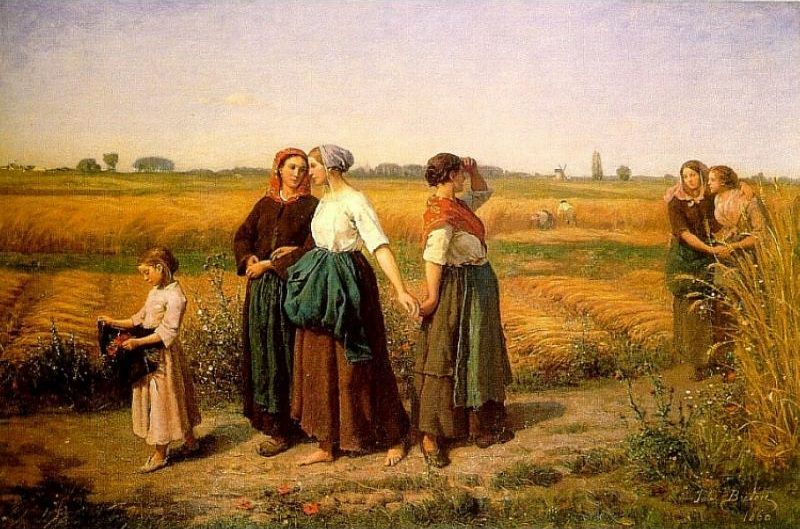 The Reapers. Jules Breton