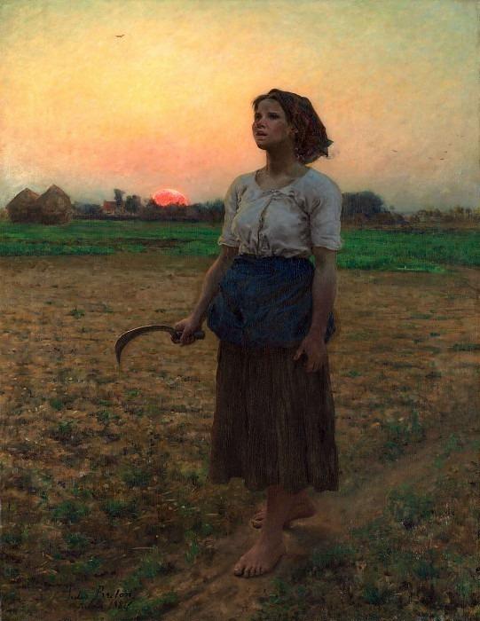 The Song of the Lark. Jules Breton