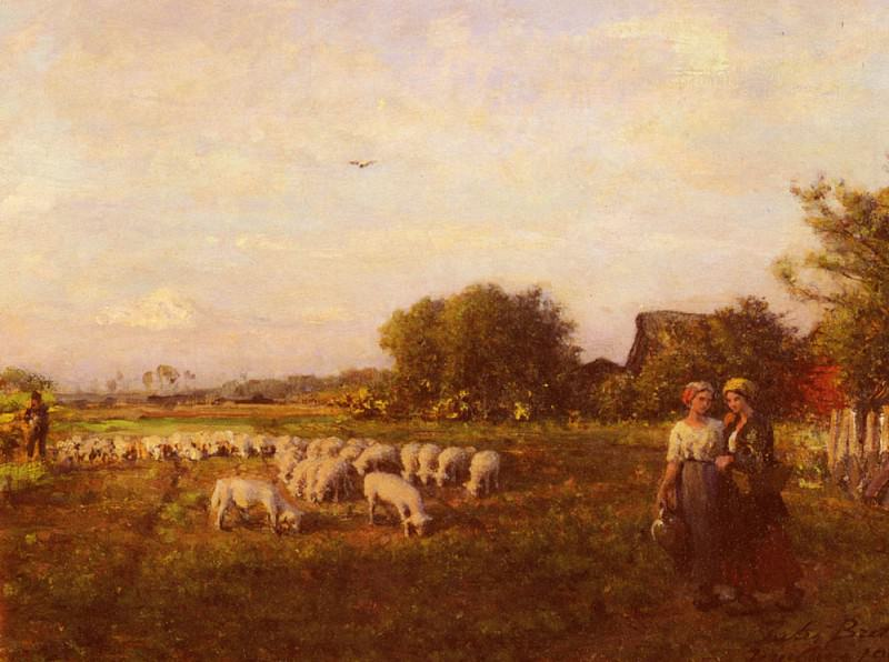 La Bergere. Jules Breton