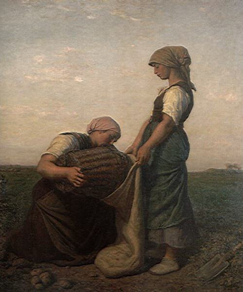 The Potato Harvest. Jules Breton