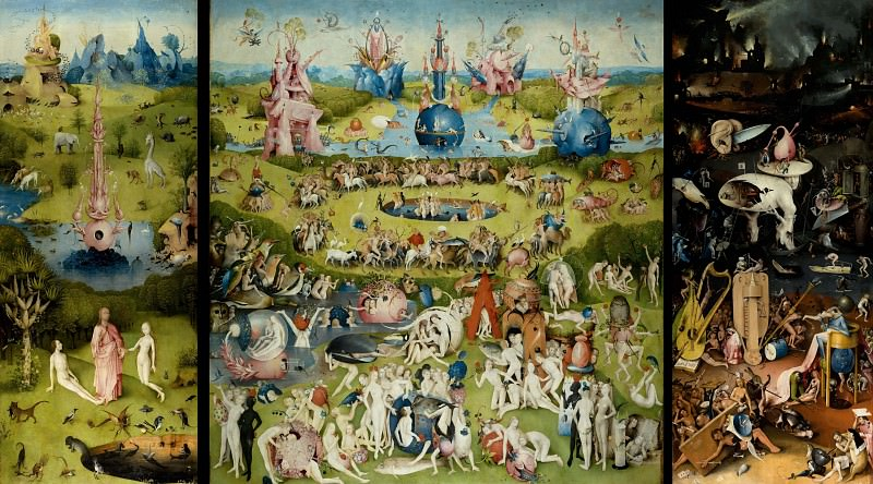 Garden of Earthly Delights. Hieronymus Bosch