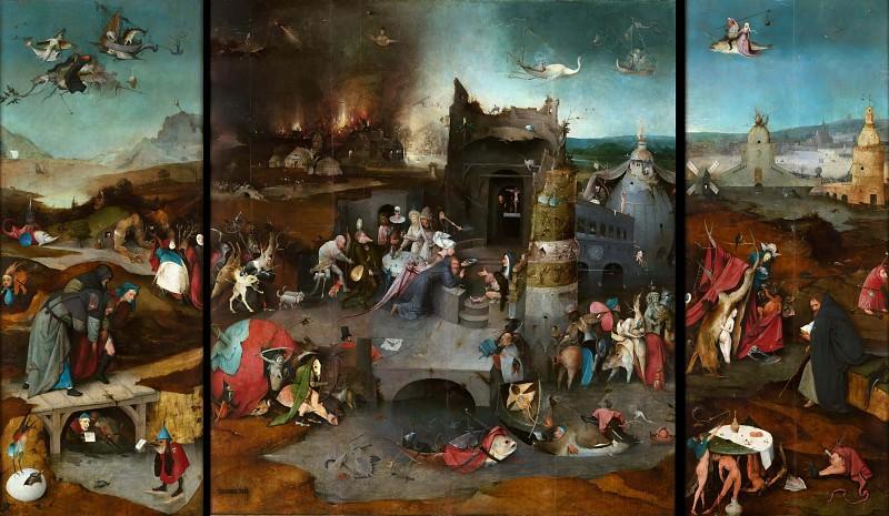 Искушение святого Антония. Иероним Босх