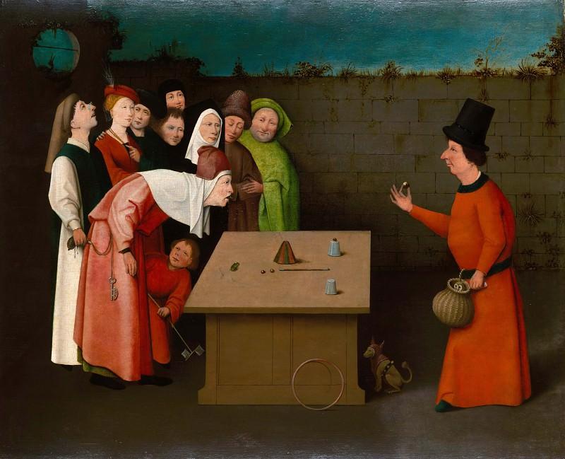 The Magician (follower). Hieronymus Bosch