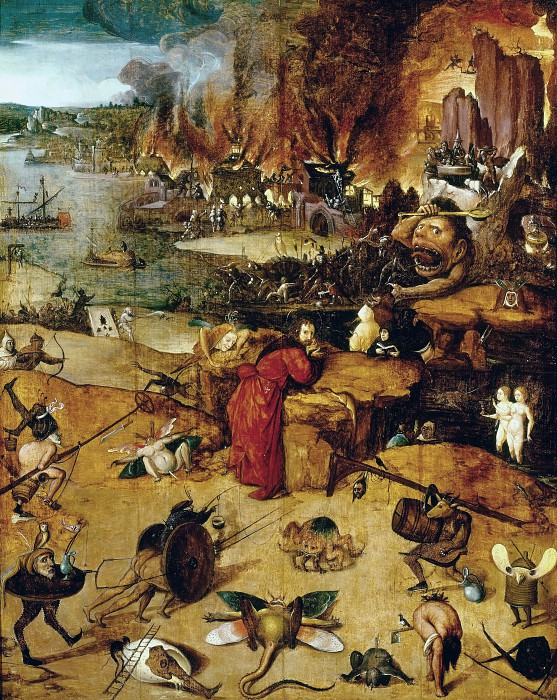 Temptation of Saint Antony (follower). Hieronymus Bosch