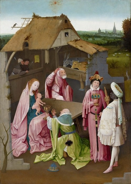 The Adoration of the Magi (workshop). Hieronymus Bosch