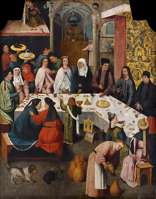 The Marriage at Cana (copy). Hieronymus Bosch