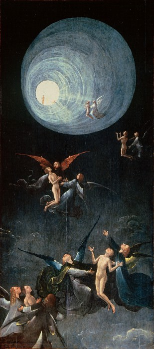 The Ascent of the Blessed. Hieronymus Bosch
