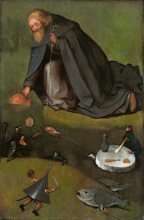 The Temptation of Saint Anthony. Hieronymus Bosch