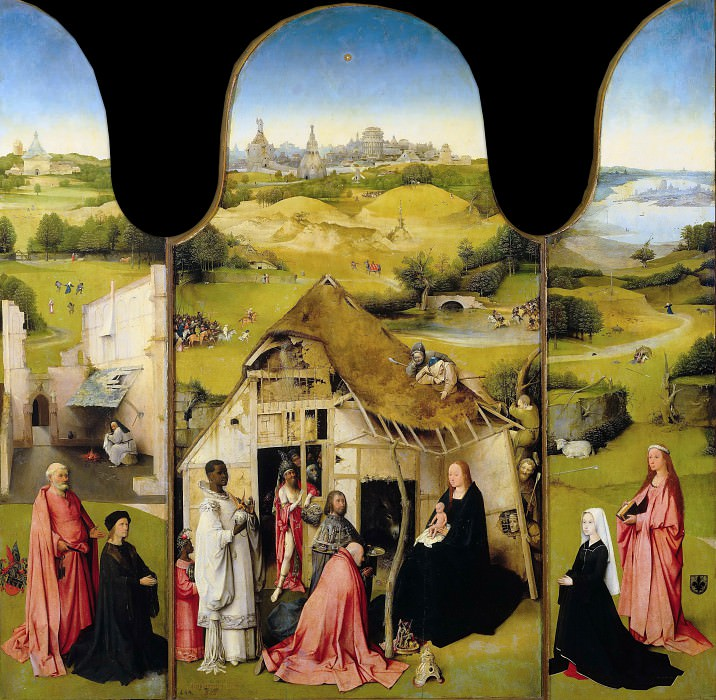 Adoration of the Magi. Hieronymus Bosch