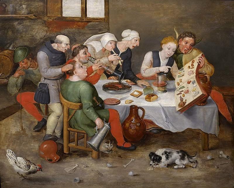 The Bacchus Singers (copy). Hieronymus Bosch