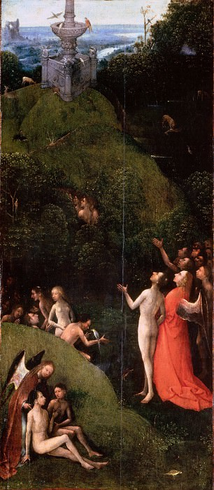 The Garden of Eden. Hieronymus Bosch