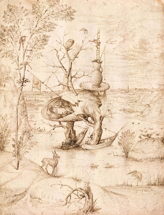The Tree Man. Hieronymus Bosch