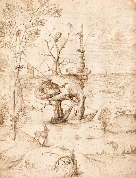 Человек-дерево. Иероним Босх
