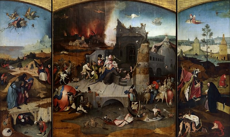 Temptation of Saint Anthony (workshop). Hieronymus Bosch