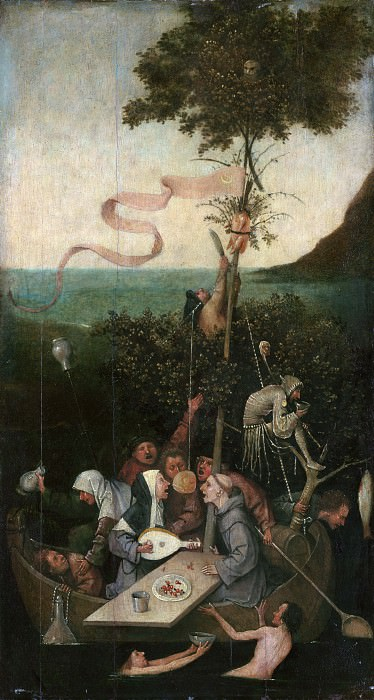 The Ship of Fools. Hieronymus Bosch