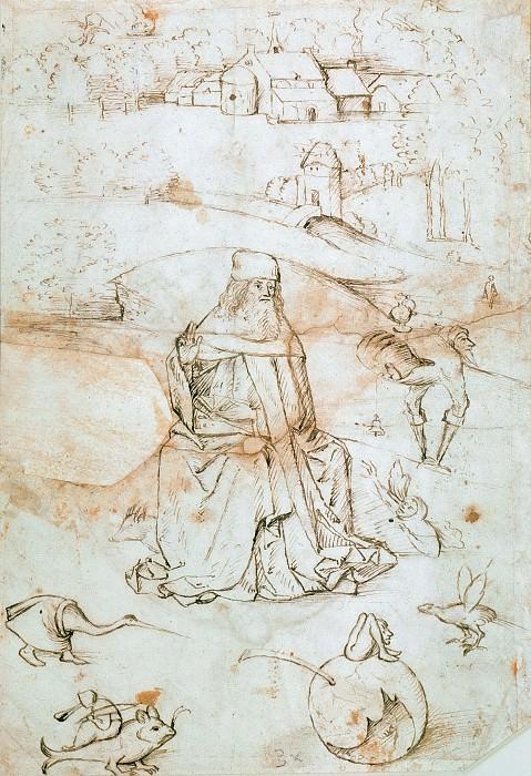 The Temptation of Saint Anthony. Hieronymus Bosch