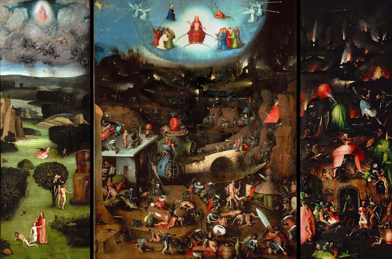 The Last Judgement. Hieronymus Bosch
