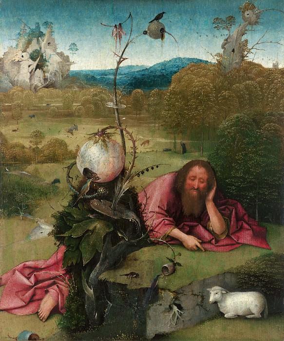 Saint John the Baptist. Hieronymus Bosch