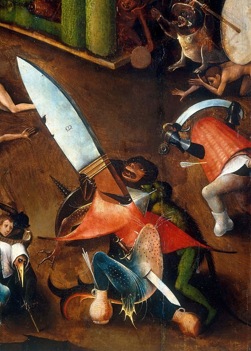 The Last Judgement (detail). Hieronymus Bosch