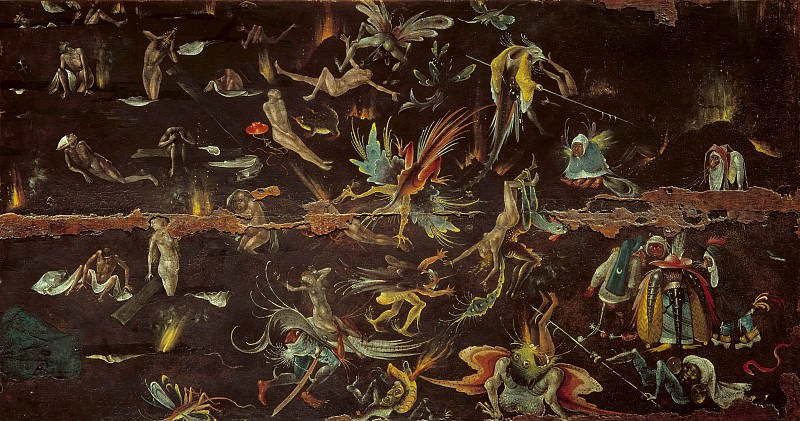 The Last Judgement (Follower). Hieronymus Bosch