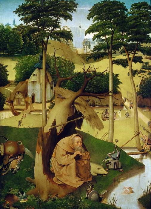 The Temptation of Saint Anthony (follower). Hieronymus Bosch