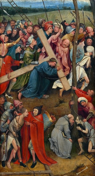 Christ Carrying the Cross. Hieronymus Bosch
