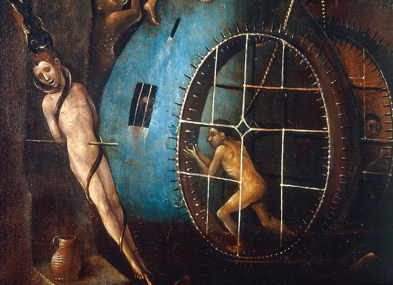 The Last Judgement, detail. Hieronymus Bosch