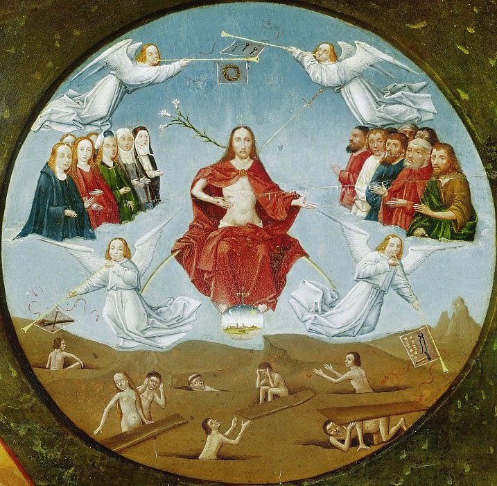 The Seven Deadly Sins and the Four Last Things - The Last Judgment (workshop or follower). Hieronymus Bosch