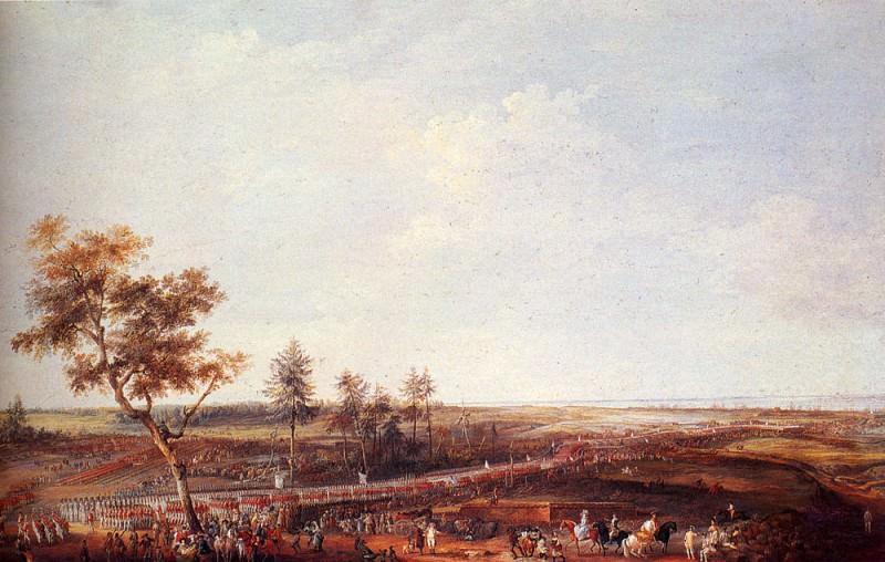 The Surrender Of Yorktown. Louis-Nicolas Van Blarenberghe