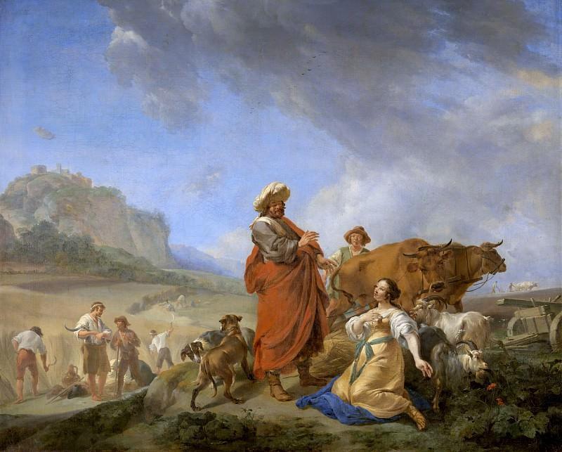 Ruth and Boaz. Nicolaes (Claes Pietersz.) Berchem