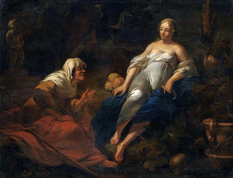 Vertumnus And Pomona. Nicolaes (Claes Pietersz.) Berchem
