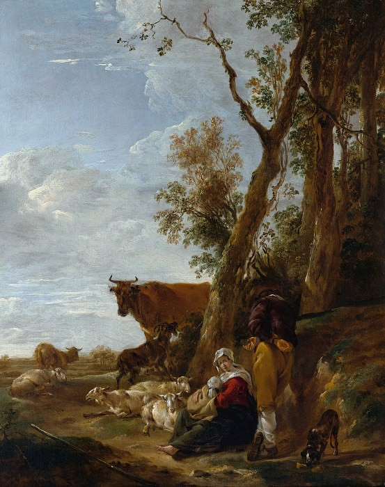 Rest. Nicolaes (Claes Pietersz.) Berchem