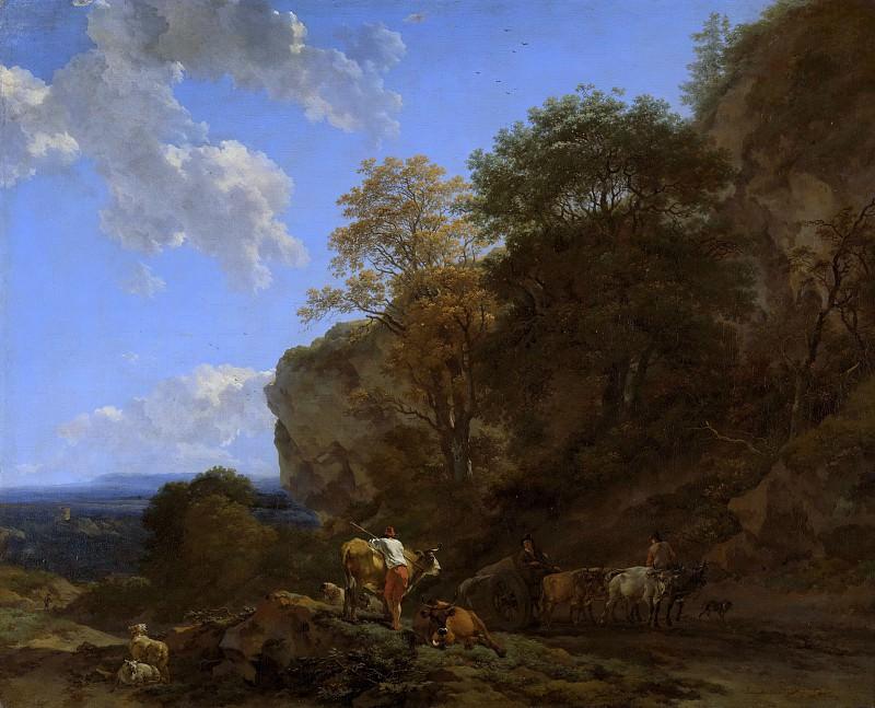 Итальянский пейзаж. Николас Питерс Берхем