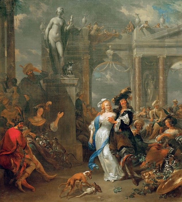 The Prodigal Son. Nicolaes (Claes Pietersz.) Berchem