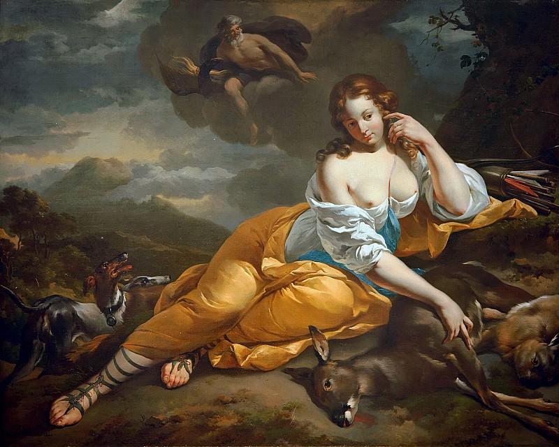 Callisto and Jupiter. Nicolaes (Claes Pietersz.) Berchem