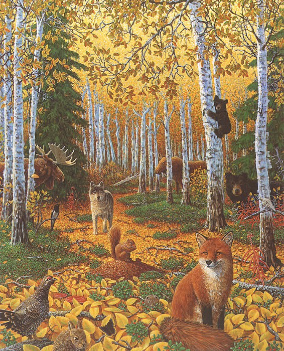 Alaska Autumn. Charles Bragg