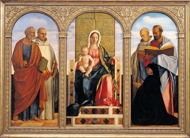 Pala Priuli. Giovanni Bellini
