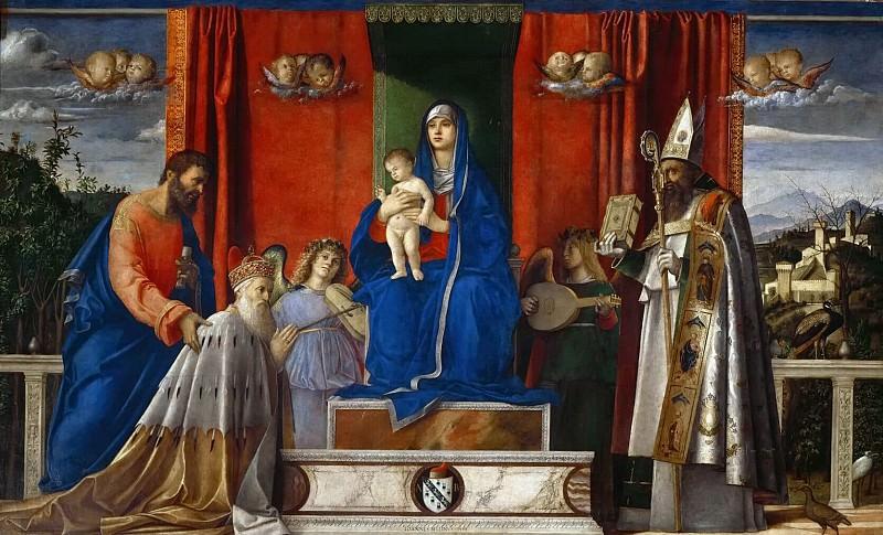 Barbarigo altarpiece. Giovanni Bellini