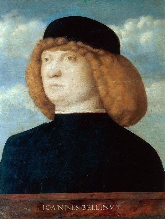 Portrait of a nobleman. Giovanni Bellini