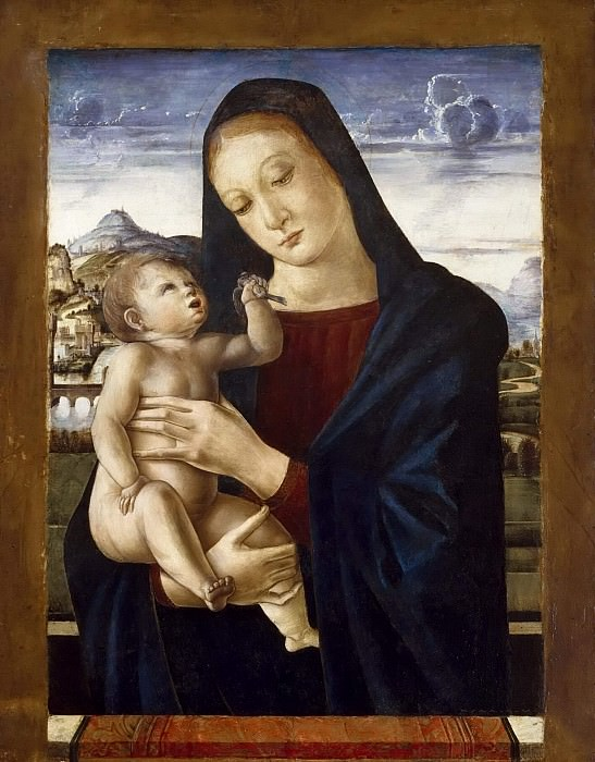 Madonna and Child. Giovanni Bellini (attributed)