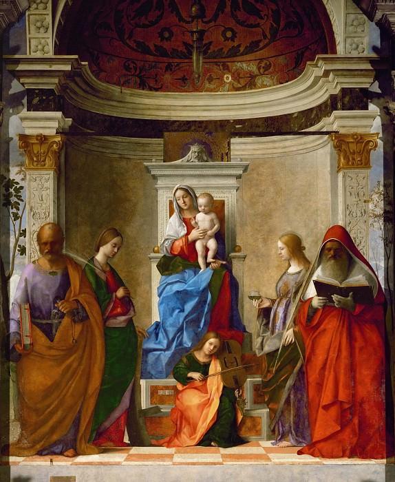Saint Zechariah Altarpiece. Giovanni Bellini