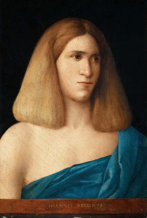 Portrait of a young man. Giovanni Bellini
