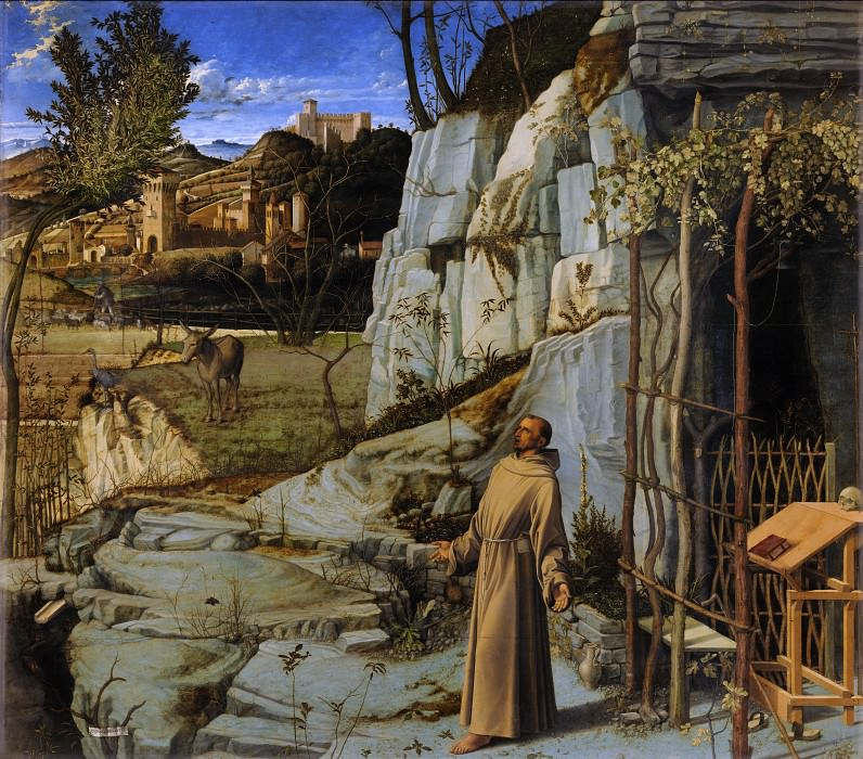 St. Francis in the Desert. Giovanni Bellini