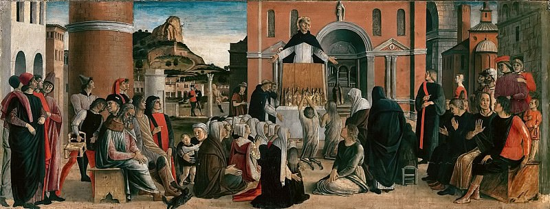 Saint Vincent Ferrer Altarpiece. Giovanni Bellini