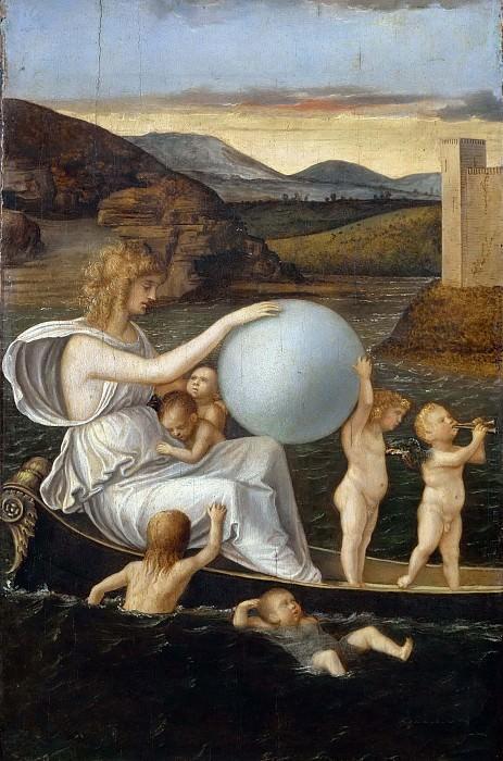 Four Allegories - Fortune. Giovanni Bellini