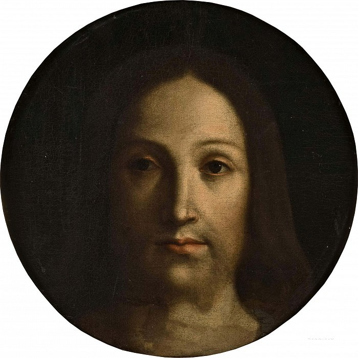 Head of Christ. Giovanni Bellini (copy of last original)